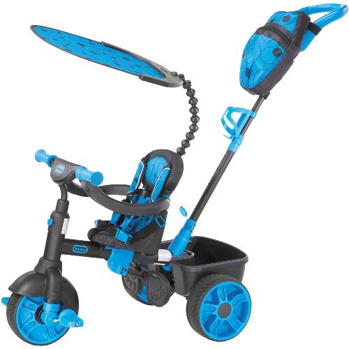 Tricicleta 4 in 1 Albastru Neon thumbnail