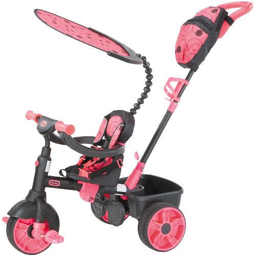 Tricicleta 4 in 1 Roz Neon thumbnail