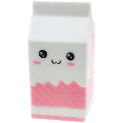 Jucarie Squishy Milkshake Capsuni