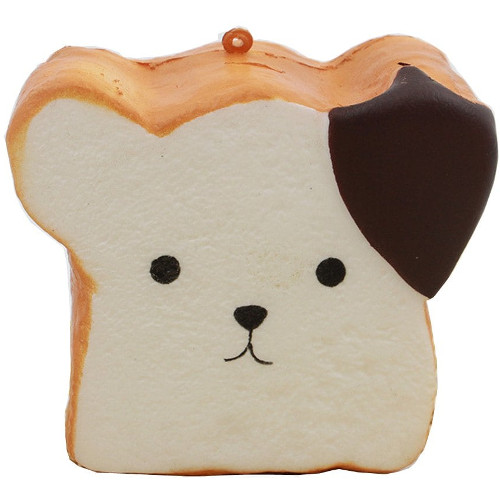 Jucarie Squishy Paine Toast
