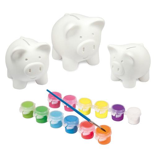 Set de Vopsit Pusculita Piggy Bank