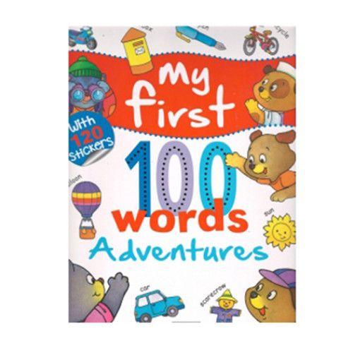 My First 100 Words - Adventures imagine