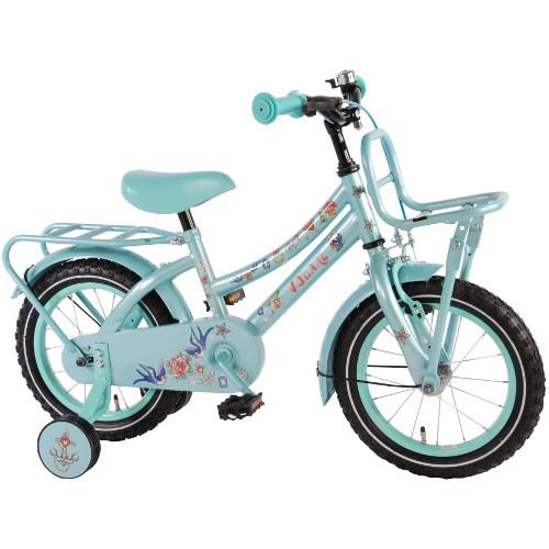 Volare Bicicleta cu Roti Ajutatoare Tattoo 14 inch
