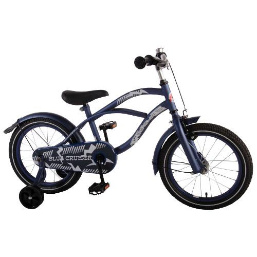 Volare Bicicleta cu Roti Ajutatoare Blue Cruiser 16 inch