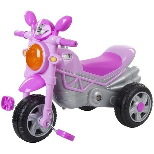 Motocicleta cu 3 Roti Chopper Roz