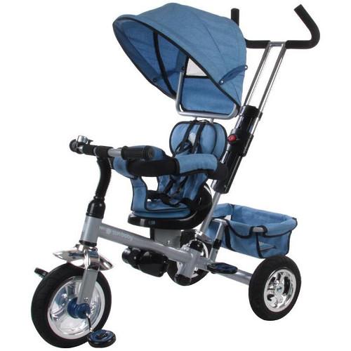 Tricicleta Confort Plus Melange Albastra thumbnail