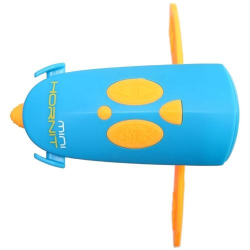 Claxon Mini Hornit cu Lumina Albastru Portocaliu