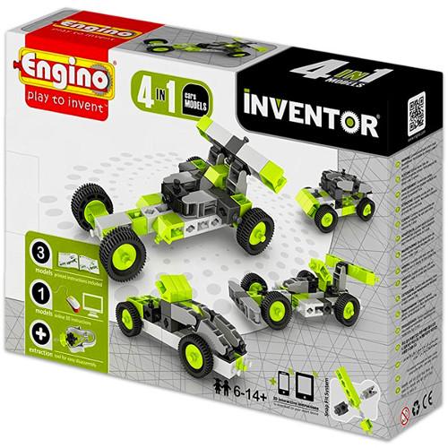 Joc de Constructie Creativ Inventor 4 Modele Masini