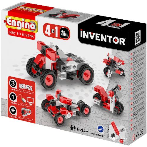 Joc de Constructie Creativ Inventor 4 Modele Motociclete