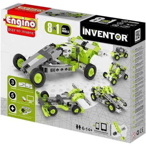 Joc de Constructie Creativ Inventor 8 Modele Masini