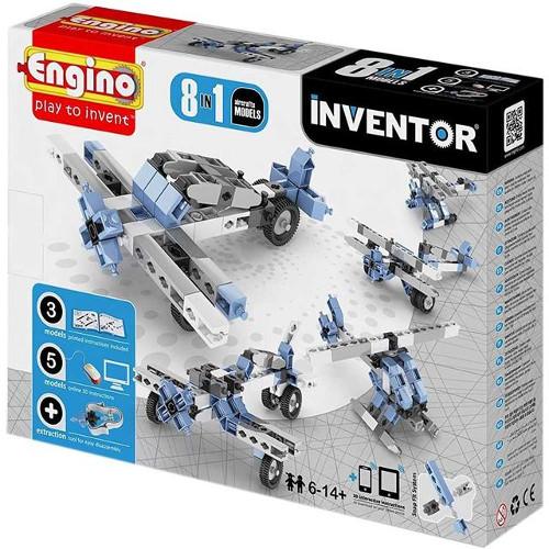 Joc de Constructie Creativ Inventor 8 Modele Aparate de Zbor