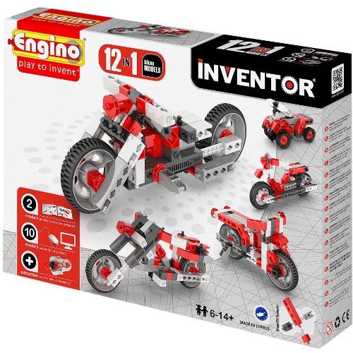 Joc de Constructie Creativ Inventor 12 Modele Motociclete
