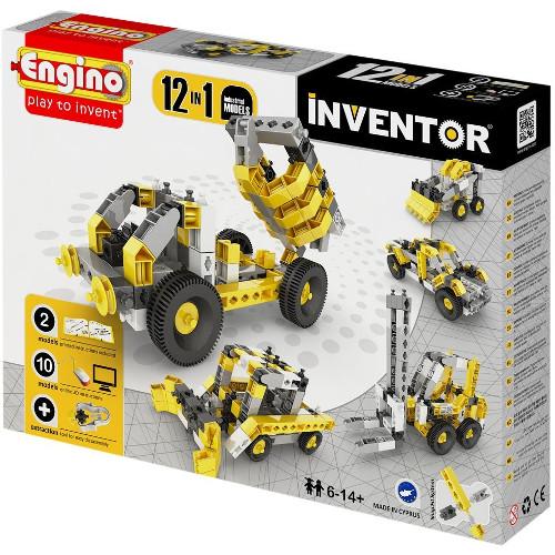 Joc de Constructie Creativ Inventor 12 Modele Utilaje Industriale