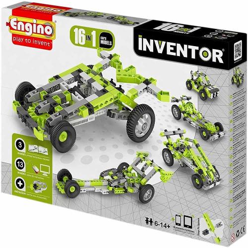 Joc de Constructie Creativ Inventor 16 Modele Masini