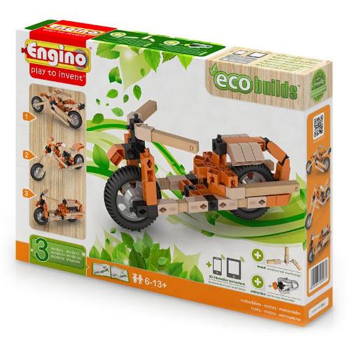 Joc de Constructie Creativ Eco-Motociclete