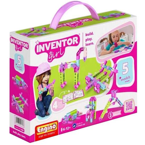 Joc de Constructie Creativ Inventor Girl 5 Modele
