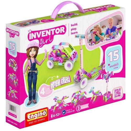 Joc de Constructie Creativ Inventor Girl 15 Modele
