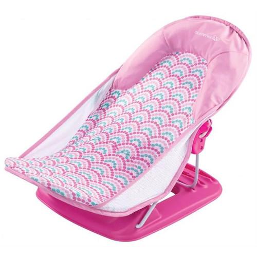 Summer Infant Suport pentru Baita Deluxe Pink Stripes