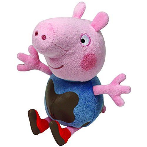 Ty Plus Licenta Peppa Pig George Murdarel 15 cm