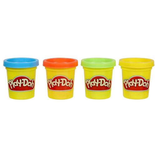 Set Plastilina Hasbro Play-Doh 4 Cutii