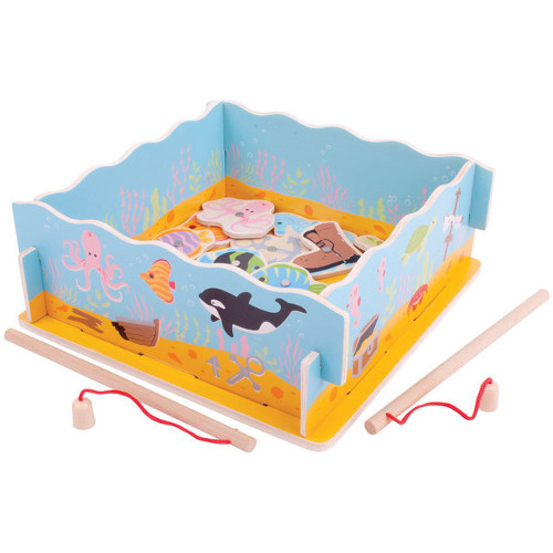 BigJigs Toys Joc Magnetic- Hai sa Pescuim