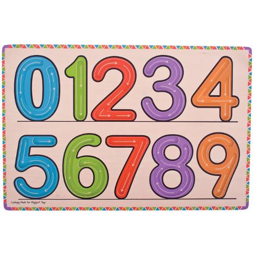 Bigjigs Invatam sa scriem cifrele