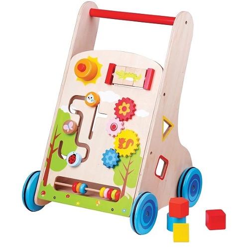 New Classic Toys Premergator cu Activitati Lelin