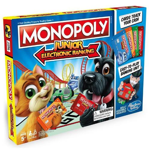 Joc de Societate Monopoly Junior Banca Electronica