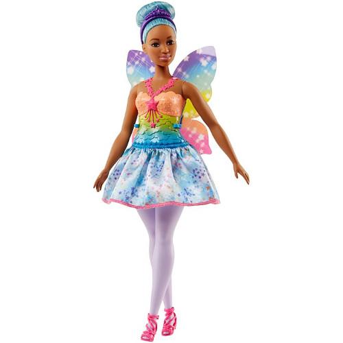Mattel Papusa Barbie Dreamtopia Zana Mulatra din Regatul Rainbow Cove