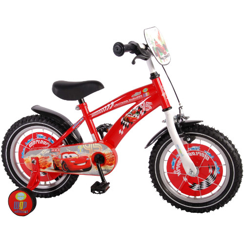 E and L Cycles Bicicleta Disney Cars 14 inch