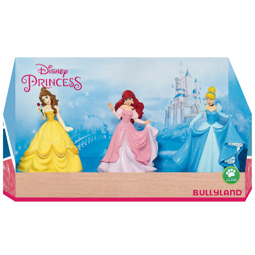 Set 3 Figurine Disney Princess