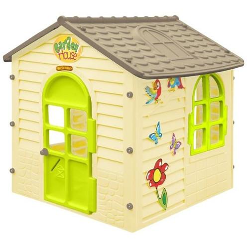 Casuta de Joaca cu Usi si Ferestre Functionale Small Garden House, 122 x 120 x 120 cm thumbnail