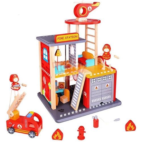 Set de Constructie Sectia de Pompieri thumbnail