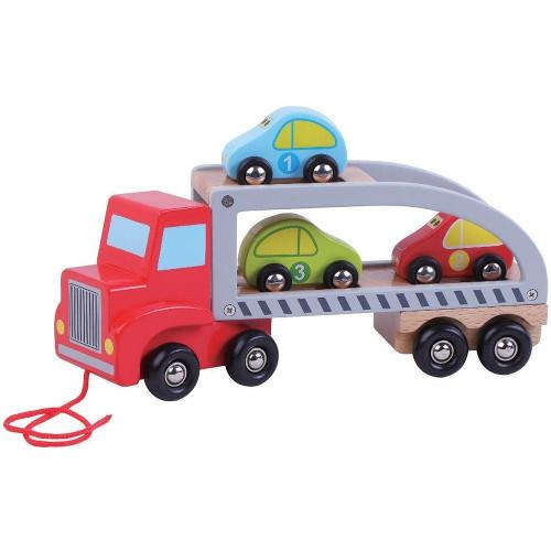 Camion de Remorcare cu Trei Masini thumbnail