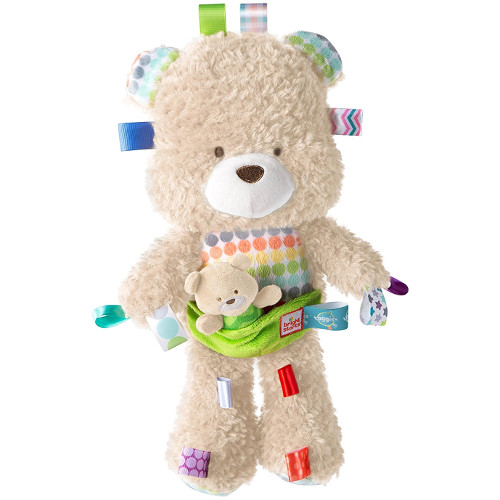 Bright Starts Jucarie de Plus Ursuletul cu Puiut Snuggles Bear