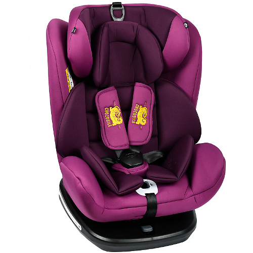 Scaun Auto Tweety cu Isofix Rotativ 360 Grade Purple 0 – 36 kg