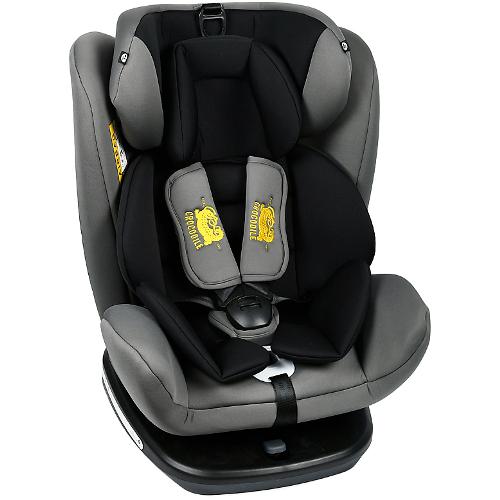 Scaun Auto Tweety cu Isofix Rotativ 360 Grade Grey 0 – 36 kg