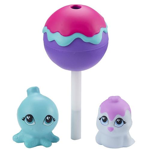 Set 3 Figurine Moi in Acadea Cake Pop - Sealpop si Poptopus