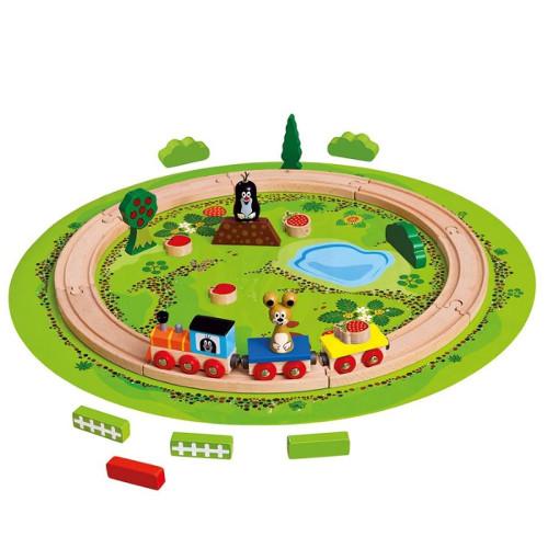 Trenulet cu Sina Circulara Little Mole thumbnail