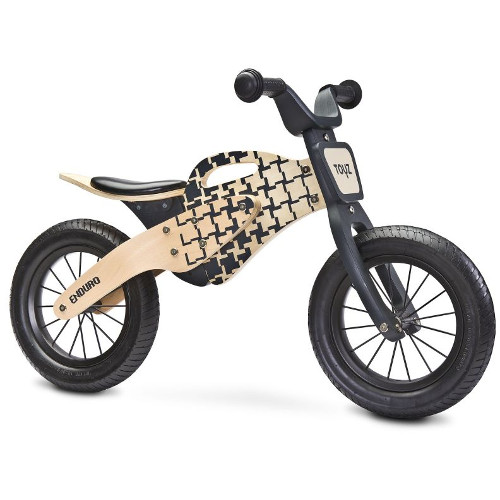 TOYZ Bicicleta fara Pedale din Lemn Enduro 2018
