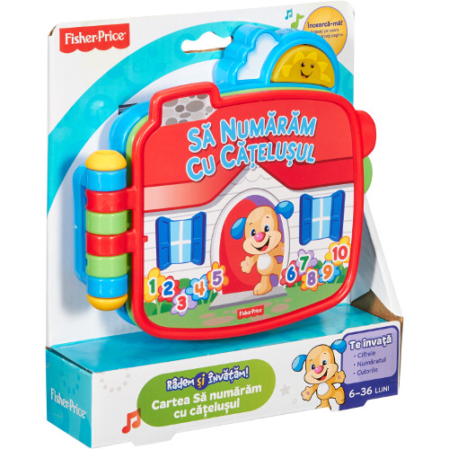 Fisher-Price Carticica Hai Sa Numaram Laugh n Learn