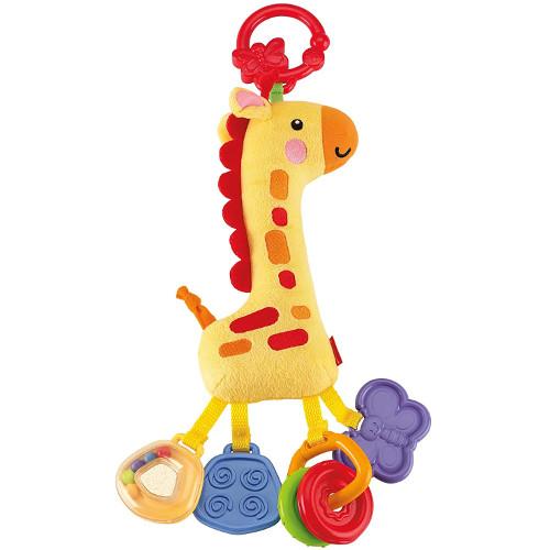Jucarie Zornaitoare Girafa Moale
