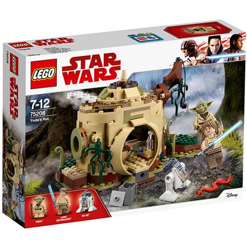 Poza LEGO Star Wars Coliba lui Yoda 75208