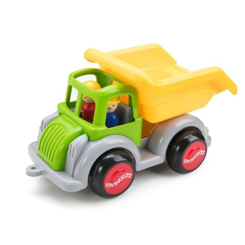 Camion Autobasculanta Culori Vesele cu 2 Figurine Jumbo