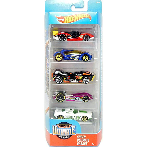 Mattel Hot Wheels – Set 5 Masinute Super Ultimate Garage