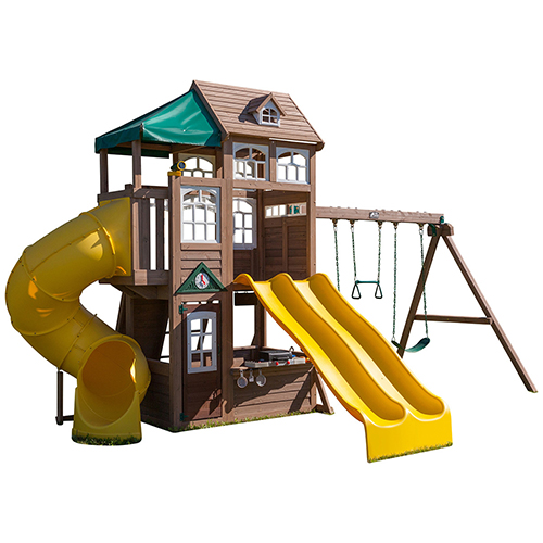 KidKraft Complex de joaca din lemn Lookout Lodge Kidkraft