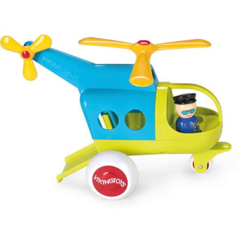 Elicopter Culori Vesele cu 2 Figurine Jumbo