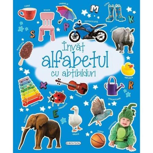 Editura Girasol Invat Alfabetul cu Abtibilduri