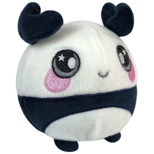 Jucarie Squishy Pufoasa din Plus cu Revenire Lenta Panda Pip 9 cm thumbnail