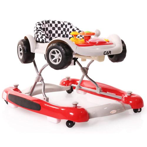 Cangaroo Premergator cu Functie de Balansoar Car Rosu